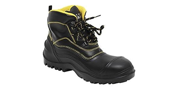 Cofan 12002237 - Bota de agua baja seguridad (SBH, T-37, híbrida) color negro: Amazon.es: Bricolaje y herramientas