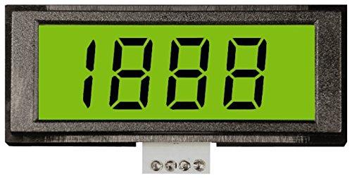 5VDC Power: 5W2141 LCD Digital Panel Meter Voltmeter 2V