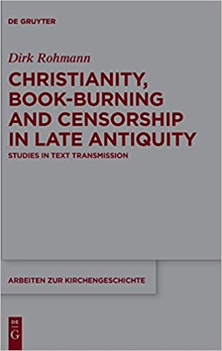 Amazon com: Christianity, Book-Burning and Censorship in