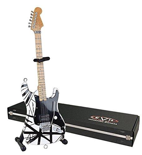 - EVH Minature Guitars EVH Black & White Mini Replica Guitar Van Halen (EVH003)