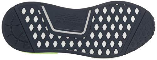 adidas Originals Unisex NMD_R1 Running Shoe, Collegiate Navy/ice Mint, 3.5 M US Big Kid by adidas Originals (Image #3)