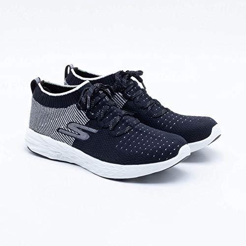 Skechers Black Go Scarpe Indoor White 6 Donna Sportive Run pwZqarSpR