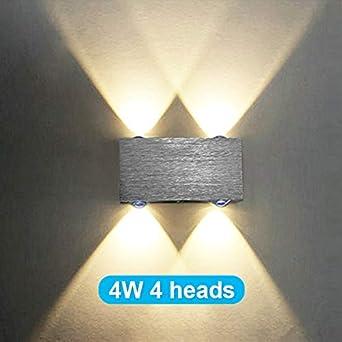 8w Led Moderne Appliques Aluminium 4w 6w Murales Applique 2w En yvwONPmn80