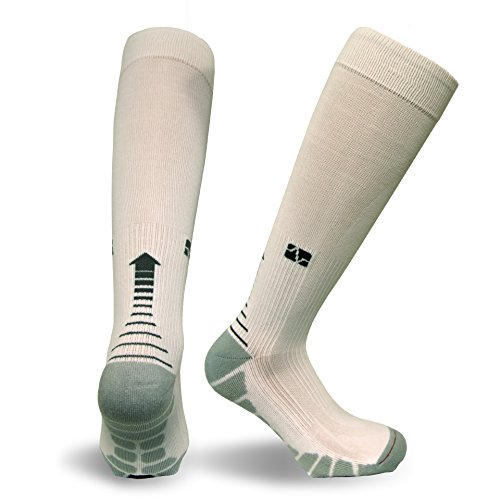 Vitalsox Italy-Patented Compression VT1211,X-Small,White by Vitalsox (Image #1)