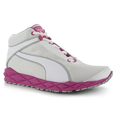 1b6f3f5b937f Puma Women Pumagility Mid XT Ladies Trainers White   Rasp UK 5   Amazon.co.uk  Shoes   Bags