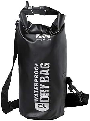 Waterproof OUTDOOR GEAR HEAVY DUTY Boating Kayaking Camping Dry Bag 5 liter BLK