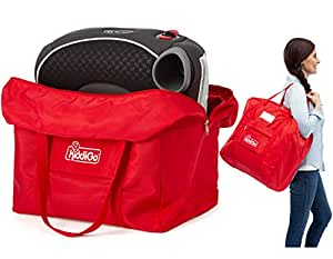 Booster Seat Travel Bag For Backless Booster | Protect From Germs Stay Healthy | Gate Check Bag Cover Protects Toddler Booster Car, Dining Seat When Traveling | Airplane Travel Accessories for Parents