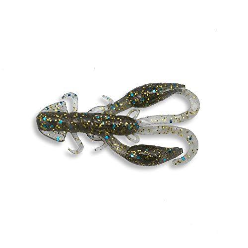 (Ialnai Fishing Soft Plastic Lures Fresh Water Fishing Bait (All PowerBait Styles) Soft Jerk Baits Soft Fishing Lures, Cur Artificial Fishing Bait (2in, Shrimp(Blue)) )