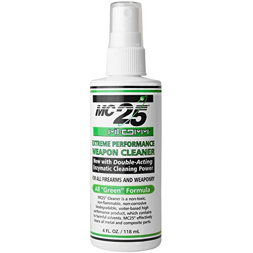 Mil Comm Mc25 Gun and Firearm Cleaner, Degreaser 4 Ounce Spray