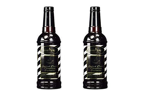 Salted Dark Chocolate Espresso- Jordan's Skinny Syrups- Sugar Free (2 Pack) by Jordans Skinny Syrups (Image #1)