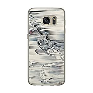 Loud Universe Samsung Galaxy S7 Madala Wood n Marble A Random 6 Printed Transparent Edge Case - Multi Color