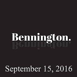Bennington, September 15, 2016