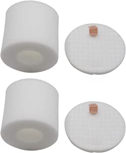 AirClean 2 Pack Replacement Base Pre-Motor Filters Compatible with Shark IQ Robot Vacuum R101AE RV1001AE UR1005AE Self-Empty Base