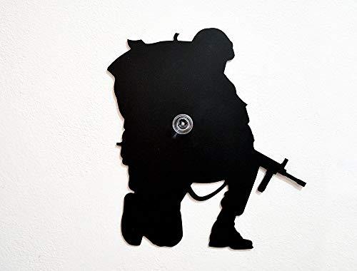 US Army Soldier Silhouette-Wall Hook/Coat Hook/Key Hanger