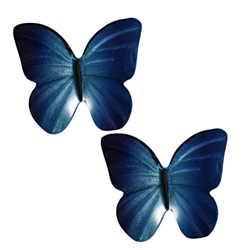 Butterfly Drawer Knob (Kylin Express Pack Of 2 Beautiful Butterfly Cabinet Knobs Drawer Pull Handles,No.6)