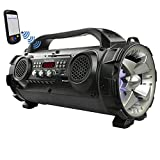 Best Bluetooth Boomboxes - Boytone BT-50GR Portable Bluetooth Boombox, Indoor/Outdoor 2.1 Hi-Fi Review