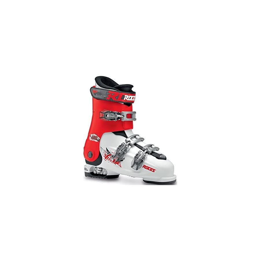 Roces Idea Free Kids Ski Boots 22.5 25.5/White Red Black