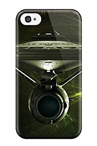 Anti-scratch And Shatterproof Star Trek Phone Case For Iphone 4/4s/ High Quality Case