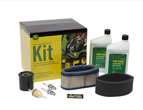 John Deere Home Maintenance Kit Fits Z445 Z465 X320 X324 X340 X360 X500 Filters Oil LG249 CHECK ENGINE & SERIAL NUMBER BEFORE ORDERING