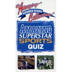 Amazing Superstar Sports Quiz (The Amazing Sports Video Collection)