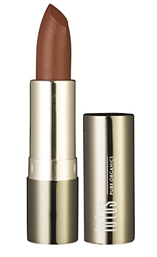 Lotus pure organics. Natural Lipstick – Espresso, Fashionable Colors, Long lasting, Gluten Free, Cruelty Free, Lead Free, Non-Toxic Chemicals, Enriched with Vitamin E, Smooth and moisturized. (Espresso)