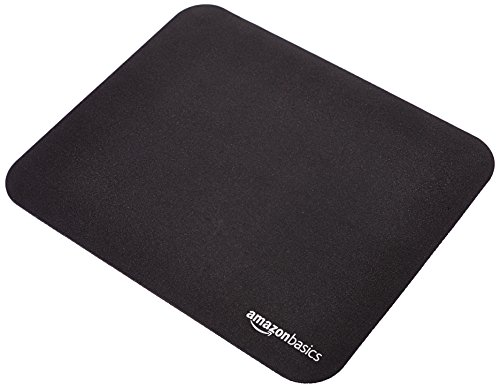 AmazonBasics Mini Gaming Computer Mouse Pad - Black (Best Mousepad For Laser Mouse)