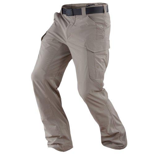 5.11 Men's Traverse Pant, Khaki, 36 x (5.11 Nylon Band)