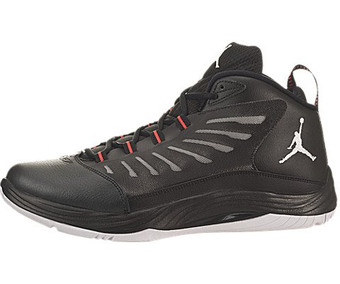 1a87e8c859002c Nike Jordan Men s Jordan Prime.Fly 2 Black White Infrared 23 Basketball Shoe  11 Men US (B00MH6XY76)