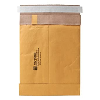 Sealed Air Jiffy Padded Mailer, #7, f Seal, 14.25 x 20 Inches, Pack of 50 (86048)