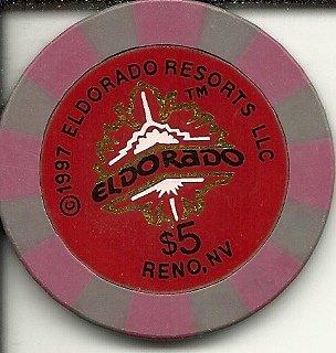 5 1997 Eldorado Resorts Reno Nevada Casino Chip
