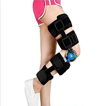 d0473a0feb Amazon.com: Post Surgery Knee Support- Full Leg Stabilizer- Hinged ...