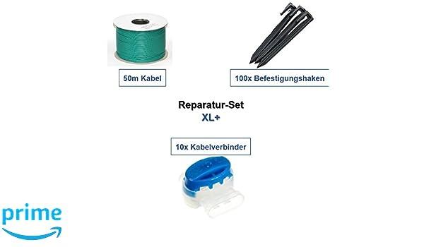 Juego de reparación de XL + Wolf Garten ROBO SCOOTER Cable Ganchos ...