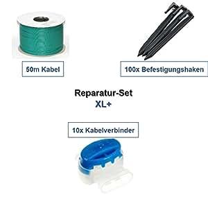Set para reparación XL + Gardena r50li R70Li r75li Cable Ganchos Conector Reparación del paquete