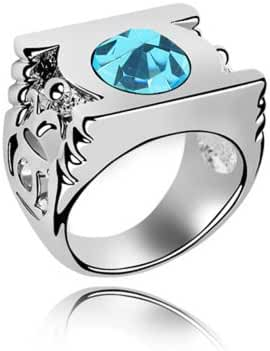 Cosplay Ring With Swarovski Elements Austrian Crystal Inlay Lantern Ring 5 Color choice