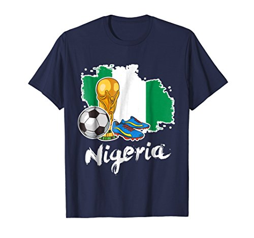 Nigeria Flag World Football Cup Jersey Russia 2018 T Shirt