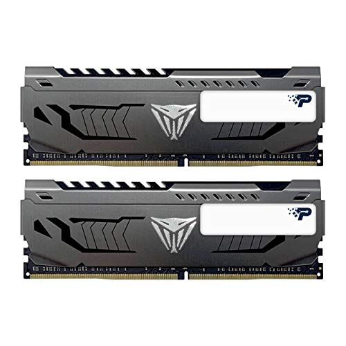 Patriot Viper Steel Series DDR4 16GB (2 x 8GB) 4400MHz Performance Memory Kit - PVS416G440C9K