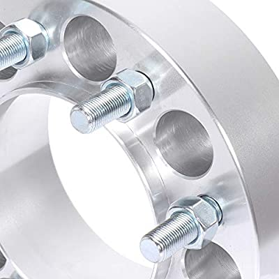ECCPP 8 Lug 50mm hub Centric Wheel spacers 8x6.5 to 8x6.5 9/16 121mm 2 inch fit for Dodge Ram 2500 3500 2011-2012 Ram 2500 3500: Automotive