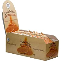 Double Delights 15 Packs of 2 Caramel Waffles ,80 gms