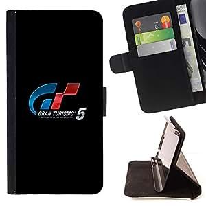 Momo Phone Case / Flip Funda de Cuero Case Cover - GRAN TURISMO DE JUEGOS DE CARRERAS - LG G4