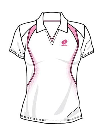 Lotto Polo Ranking, Mujer, White/Flamingo: Amazon.es: Deportes y ...
