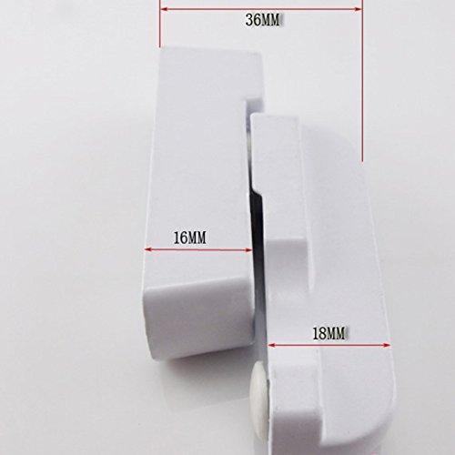 Zink Legierung UPVC Kind sicherer Sicherheits Handgriff Schleife Verriegelung Edelstahl Plastik