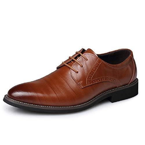 農民送った貧困メンズレザーシューズシングルシューズビジネスシューズラージサイズ指向メンズシューズカジュアルベルトベルベットシューズ、暖かい結婚式の靴