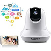 Home Indoor 1080P IP Camera, Anzermo Wifi Wireless IP Security Surveillance Camera System for Baby /Elder/ Pet/Nanny Monitor
