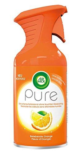 Air Wick Premium-Duftspray, Pure Belebende Orange, 3er Pack (3 x 250 ml)