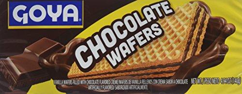 Choc Wafers (Goya Chocolate Wafer Cookies, 4.94 oz)