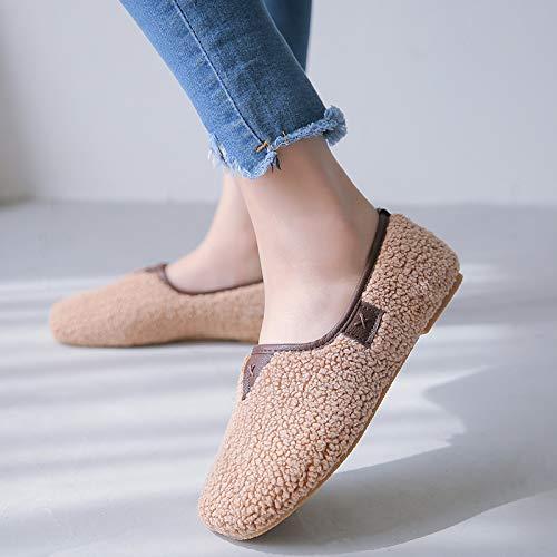 Taille Chaussures coloré EU ZHRUI Beige 41 Beige BUtFgq