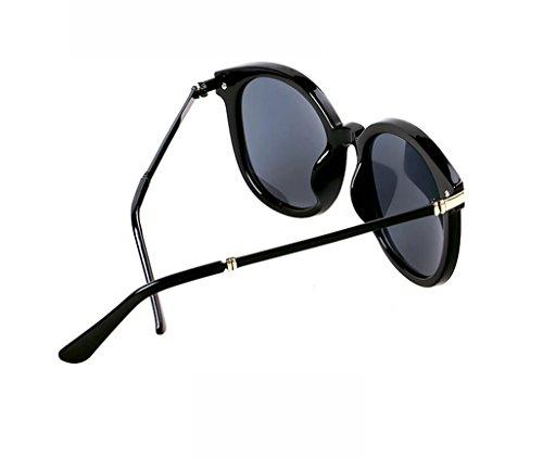 la soleil mode mode soleil de à soleil rétro de la de polarisées lunettes lunettes Flashing lunettes mode des de 1 Mme wgX5q80Tx