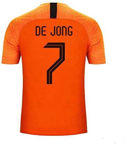 S&K Camiseta Frenkie De Jong Selección de Fútbol de Holanda ...