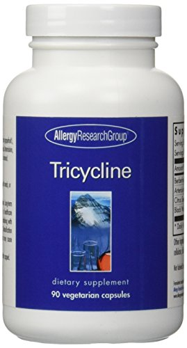 Allergy Research Group - Tricycline Caps - 90 [Health and Beauty]