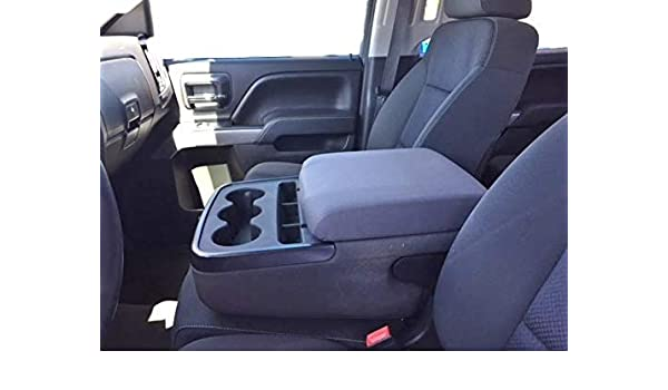 Driver Side Bottom Cloth Seat Cover Black 2009-2014 Chevy Silverado Work Truck
